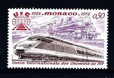 MONACO - 1972 - 50° anniversario dell'Unione Internazionale delle Ferrovie (UIC)