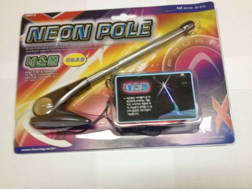 """FOURING JDM KDM 9/"""" NEON POLE TUBE SAFETY MARKER LIGHT NZ-200 AND NZ-201"""