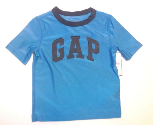 Size 18-24 Months NWT Baby Gap Toddler Boys Logo Rashguard Swimshirt UPF 40