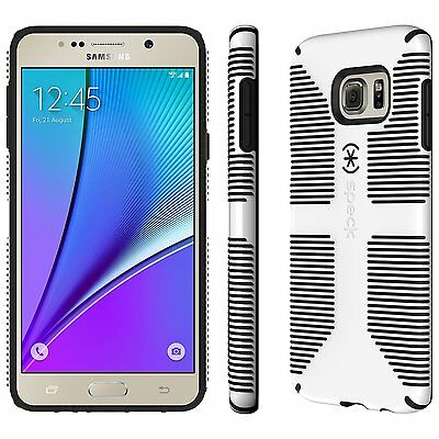 Speck Products CandyShell Grip Case for Samsung Note 5, White/Black