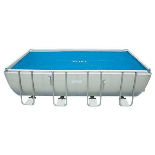 Telo solare termico Intex 29026 per piscina rettangolare frame 549 x274 cm Rotex