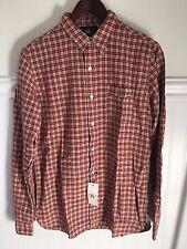 RRL Mens Long Sleeve Red Workshirt Small  $195 NWT ralph lauren polo