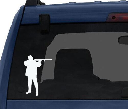 Hunting Rifle Aim #3 Car Tablet Vinyl Decal Deer Duck Hunt Chasing Tail
