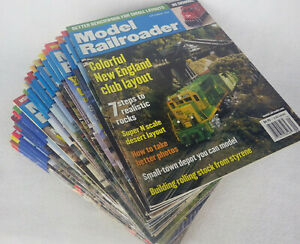 Lot-of-22-Model-Railroader-Train-Magazines-from-2002-2007