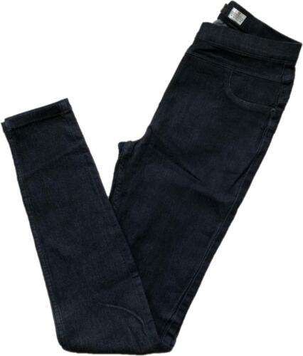 Nouveau Next taille haute bleu foncé sculpter à Enfiler Denim Leggings Jeggings 6-22 R L XL