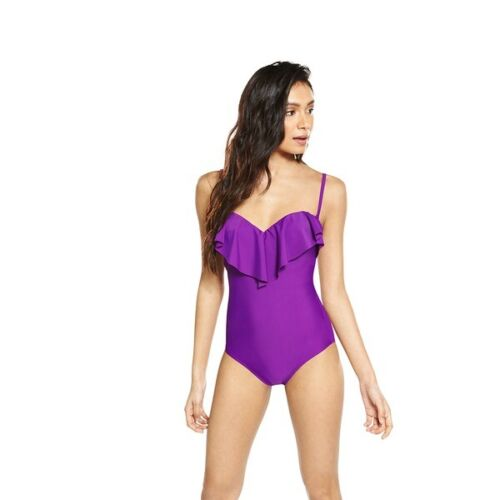 Swimsuit One Piece V by Very Purple Frill