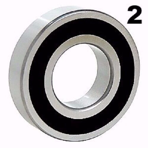 6203-2RS Sealed Bearings 17x40x12 Ball Bearing 2 Pre-Lubricated Two