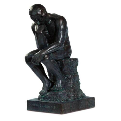 Der Denker 20cm bronze-patina nach Auguste Rodin