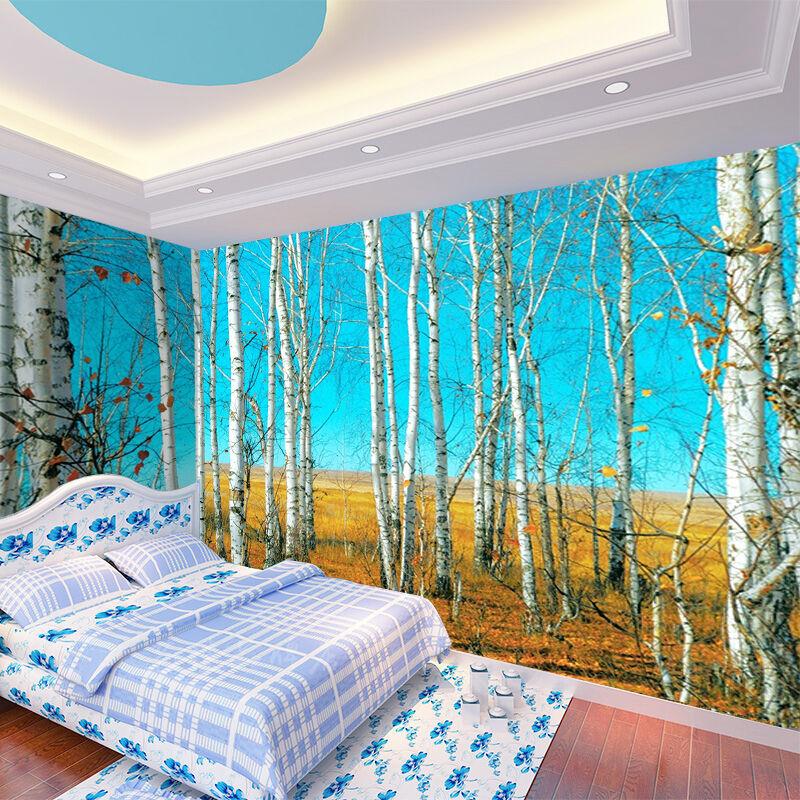 3D Grassland Trees 19 Wall Paper Wall Print Decal Wall Deco Indoor AJ Wall Paper