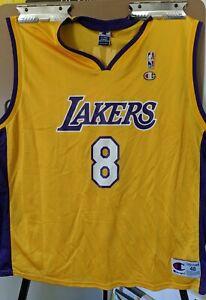 Details about Champion Kobe Bryant #8 Jersey Size 48