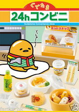Re-ment Miniature Gudetama 24 Hours Convenience Store rememt Full set of 8