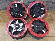 "16"" 16 Inch OEM Factory Chevrolet Trailblazer LS LT Wheels Rims Black 5140 4-set"