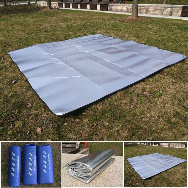 EVA Camping Waterproof Mat Aluminum Foil Foldable Sleeping Picnic Beach Mats Pad
