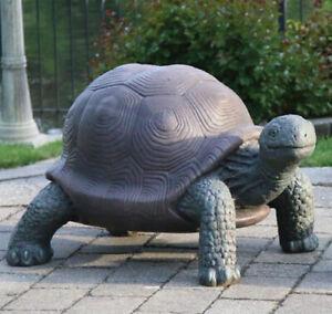 Giant Tortoise Outdoor Concrete Garden Statue Animals Pond