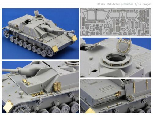 Eduard Pe 36282 1//35 Sd.kfz//167 Sturmgeschutz//Stug.iv Last Production Dragon