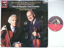 TORTELIER & MENUHIN PLAY BRAHMS DOUBLE CONCERTO LPO BERGLUND EMI 27 0268