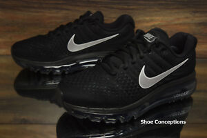 Nike-Air-Max-2017-Running-Shoes-Black-849560-001-Women-039-s-Multi-Size