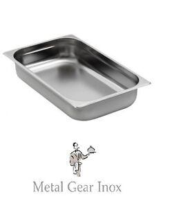 Bac Gastro Gastronorme Inox Gn 1/1 ( 325 X 530 X 100 Mm) ( Lot De 3). Bcmciz1u-08005634-816072740