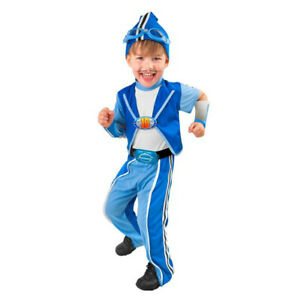 Child Deluxe Sportacus Costume Ebay