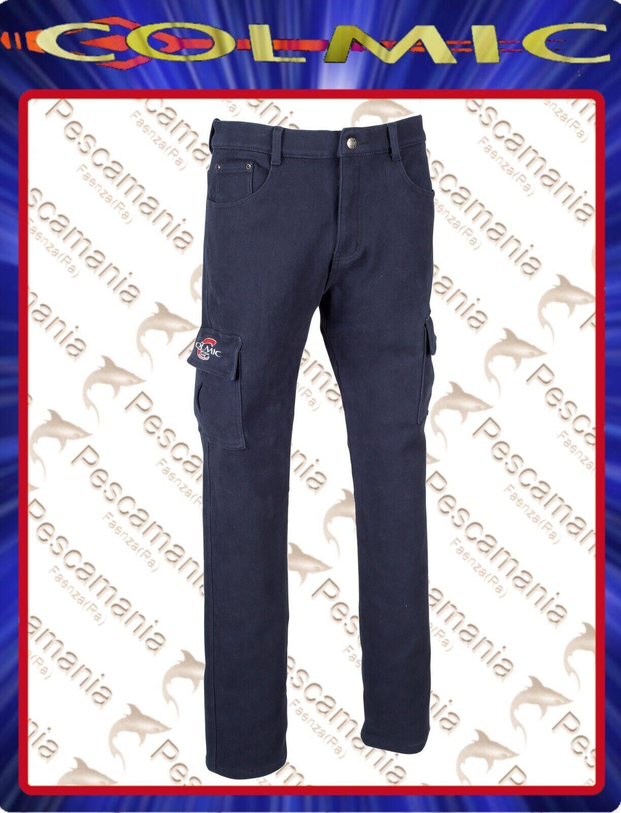 Pantalón Colmic blu para invierno Official squadra membrana de pile
