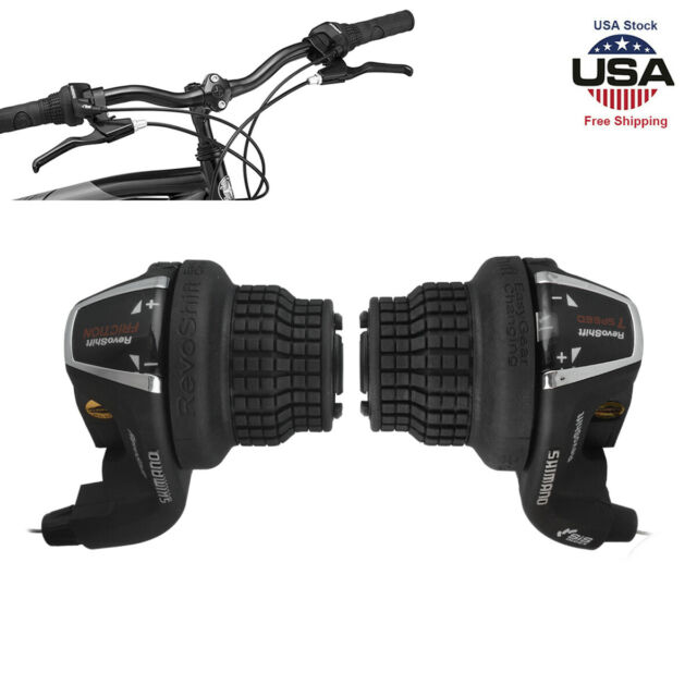 Tourney SL RS35 Revo Shifter Lever Shift Speed Bike Cycling Left /& Right Pair