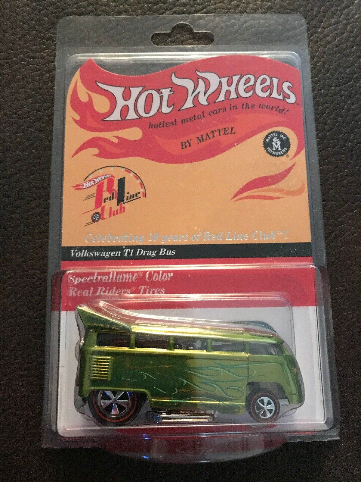 Hot Wheels VOLKSWAGEN T1 DRAG BUS 2001 RLC real riders 623 2000