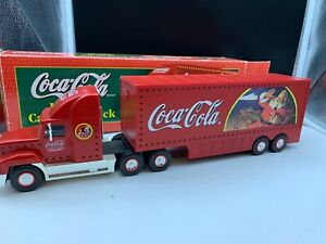 Coca-Cola-Truck-15-5-8in-With-Top-Condition