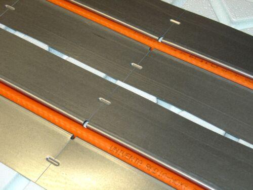 8,32 mâ² chaleur Leitblech WLB pour tube 16 mm Meuleuse De Construction Système Galvanisé