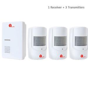 Wireless-Doorbell-Alarm-System-36-Melodies-PIR-Sensor-Patrol-Garage-Detector