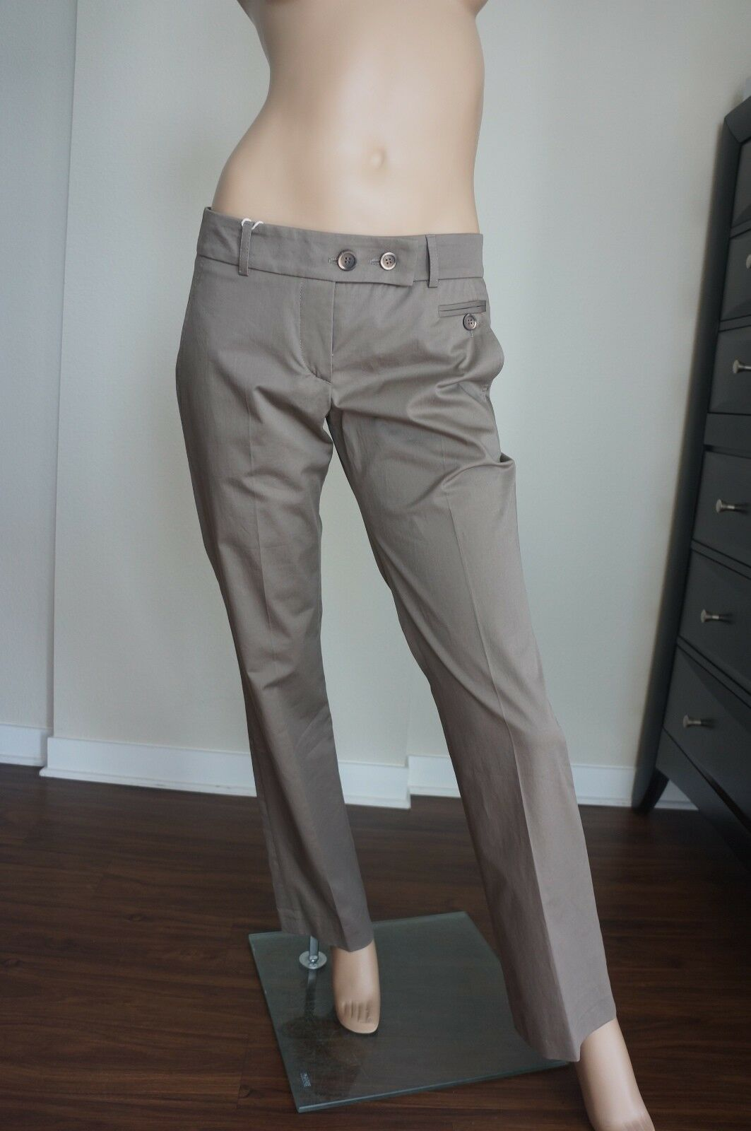 NEW Gunex Khaki Pants Sz IT 42 US 6