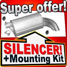 VW SHARAN I 1.9 TDI 130//140//150PS 2.0 TDI Silencer Exhaust Silencer D32C