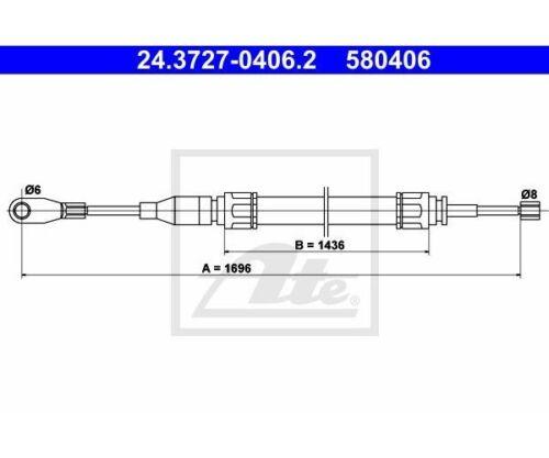 frein de stationnement pour Mercedes-Benz//8//8 Coupé UAT commande à câble