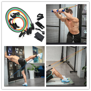 Gymnastikband Fitness Expander Yoga Train Sport Gummiband Latex Widerstand