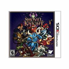 Shovel Knight [Nintendo 3DS, NTSC, Platform Action Adventure, 8-Bit Retro Style]