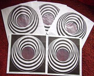3-X-WHITE-amp-2-X-BLACK-VERTIGO-SWIRL-SPIRAL-NEW-12-034-LP-POLY-LINED-INNER-SLEEVES