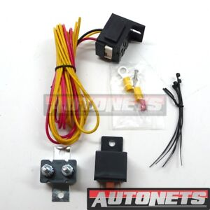 Details about Universal Relay Fuel Pump 30 Amp 12 Volts Kit w/ Mounting on