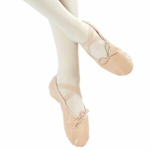 Danzcue-Adult-Split-Sole-Leather-Ballet-Dance-Slipper