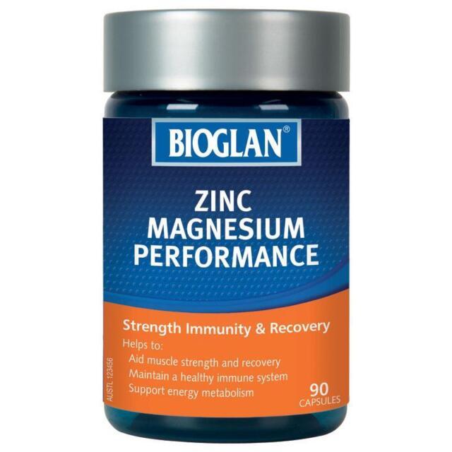 Bioglan Zinc Plus Magnesium 90 Capsules