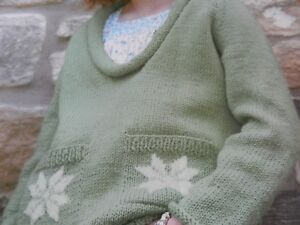 fa39110d4f30 Knitting Pattern Girls Boys Jumper and Cardigan with Pockets 24-30 ...