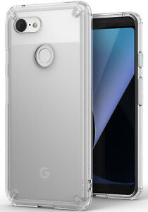 best loved 8b298 e82e8 Details about Google Pixel 3 Case, Ringke [FUSION] Shockproof Protective  Crystal Clear Cover