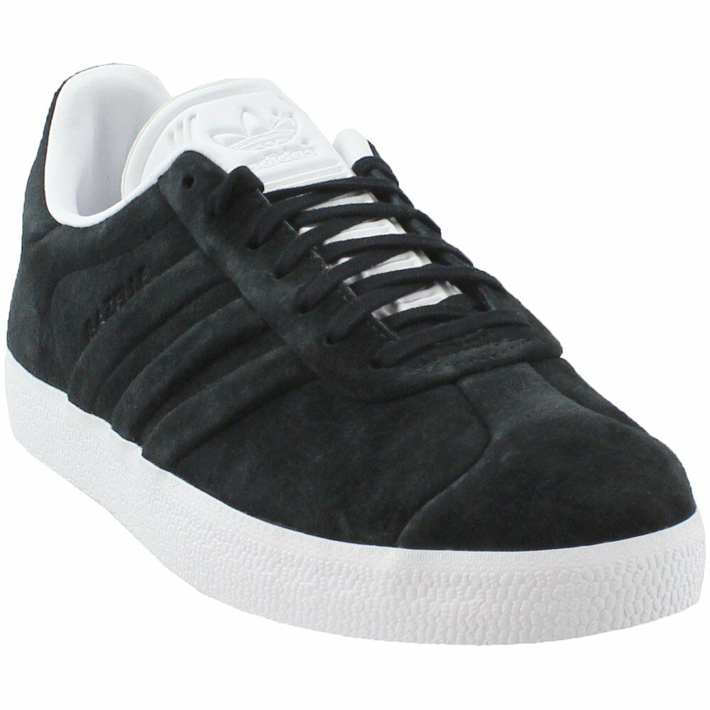 Adidas Gazelle Stitch And Turn Turn Turn Sneakers - Black - Mens 603698