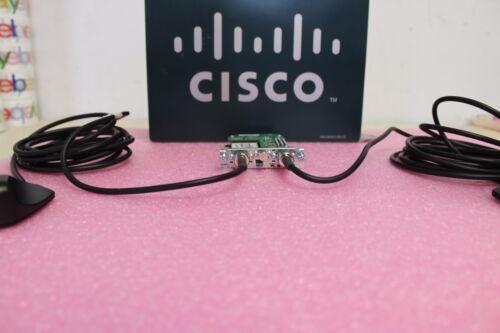 Cisco EHWIC-4G-LTE-V /& 2 SET OF 4G-LTE-ANTM-D ANTENNA W// 4G-AE010-R CABLE BUNDLE