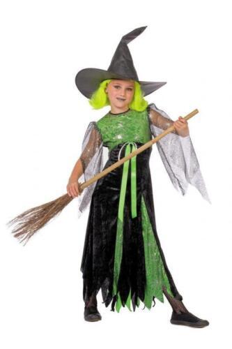 Costume streghe streghe strega costume abito Witch barocco Bambini Vampiro Costume Halloween