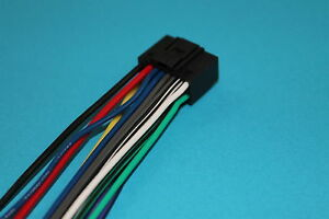 Wire Harness for Kenwood DDX470 DDX573BH DDX374BT DDX9702S KDC-BT848U  DNX572BH S | eBayeBay
