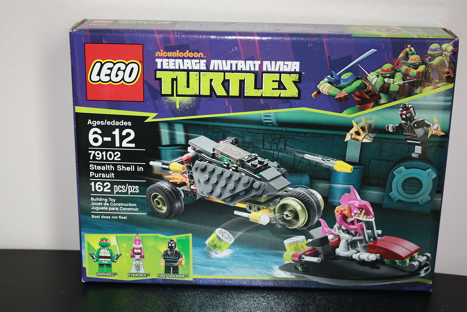 Lego Teenage Mutant Ninja Turtles 79102 79102 79102 Stealth Shell In Pursuit 162 Pieces 3eb9e7