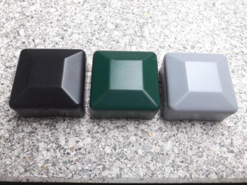 Tapas de montantes para quadratpfosten 15x15mm 100x100mm valla de plástico montantes