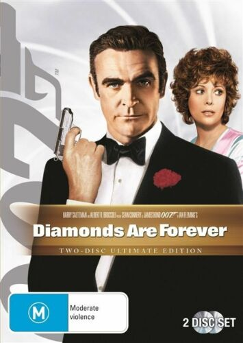 1 of 1 - Diamonds Are Forever (1971) Sean Connery - NEW DVD - Region 4