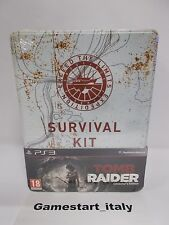 TOMB RAIDER COLLECTOR'S EDITION SURVIVAL KIT - SONY PS3 - NUOVO NEW