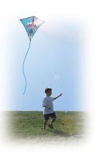 """Kite Jet Plane Diamond Single Line Kite 30"""" With Winder & String PR 15445"""