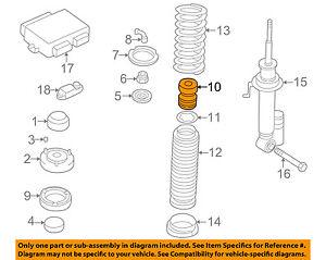 s l300 bmw oem 1995 740il rear suspension bumper 33531091564 ebay